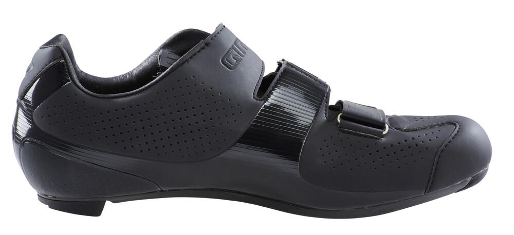 Chaussures Noires Giro Factor Avec Velcro Pour Les Hommes xpP8x8k9